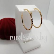 Серьги-кольца Y01