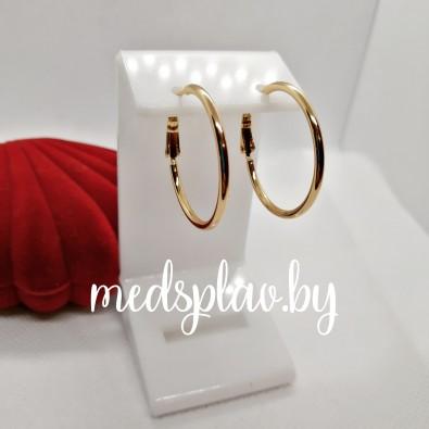 Серьги-кольца Y08
